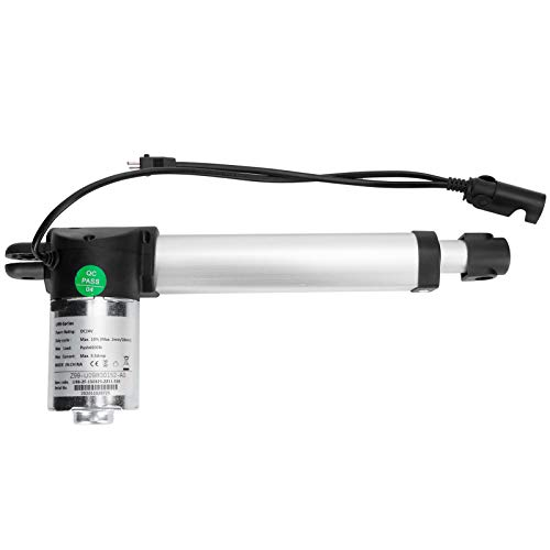 Asixxsix Actuador Lineal, Varilla de Empuje eléctrica, diseño Compacto de 150 mm de Carrera para sofá eléctrico, Soporte eléctrico, Varilla de elevación, Cama(European regulations)