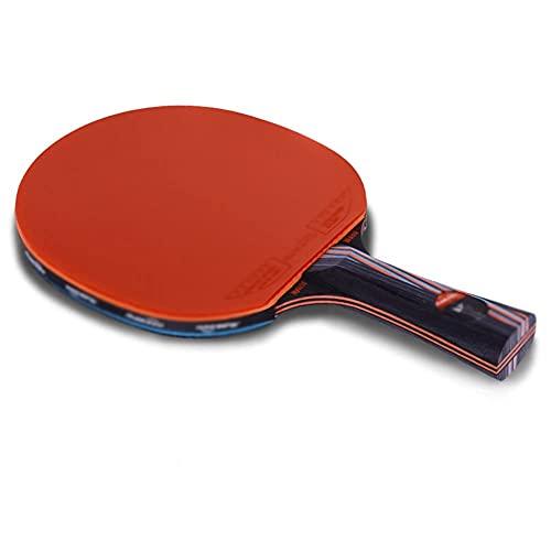 JIANGCJ bajo Precio. Juego de Raquetas de Tenis de Mesa Paquete | Incluye 2 Ping Pong Paddle Pro Premium | 3 Bolas de Ping Pong, 1 Case DE Viaje Case-A