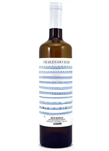 Frailes Do Mar Vino Albariño de 12º - Paquete de 6 botellas de 75 - Total 450 cl