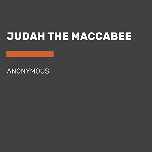 Judah, the Maccabee audiobook cover art