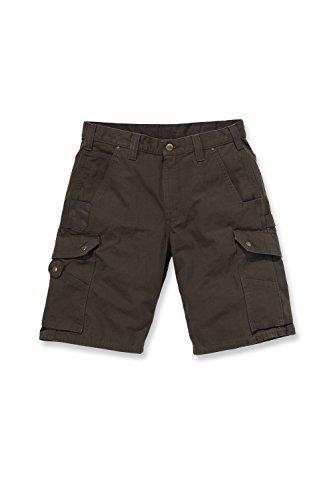 Carhartt - pantaloncini stile cargo in tessuto ripstop Dark Coffee 31