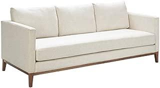 Tommy Hilfiger Guilford Sofa with Solid Wood Base Coastal Cream