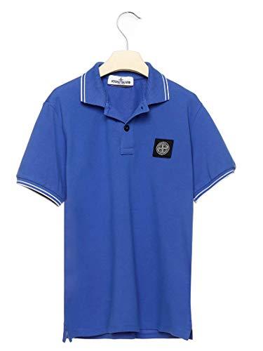 Stone Island Luxury Fashion Junge 721621348V0043 Blau Baumwolle Poloshirt | Frühling Sommer 20