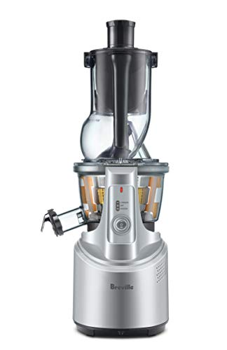 Breville The Big Squeeze Juicer, Silver, BJS700SIL