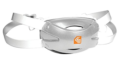 Shock Doctor Adult Ultra Pro Chin Strap, White, Small/Medium