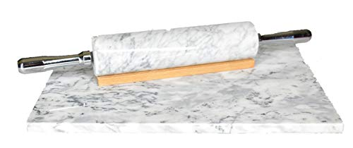 Infinas Home Solutions Marble Rolling Pin Set