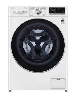 LG V7WD96H1 Waschtrockner, weiß/schwarz