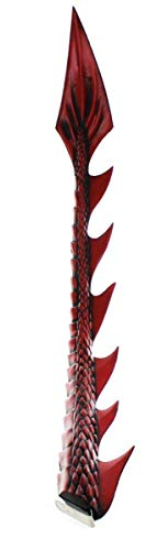 HMS Unisex-Adult's Supersoft Junior Dragon Tail-RD, Red, One Size