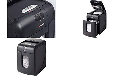Rexel 2102559CHA Auto+ 130X Distruggi Documenti, Taglio a Frammenti, 503x373x503 mm, Nero [Spina Svizzera]
