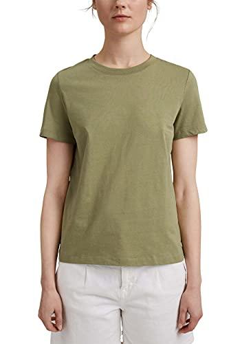 Esprit 011EE1K363 Camiseta, 345 / Caqui Claro, M para Mujer