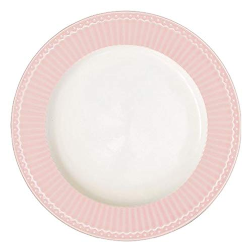 GreenGate Teller Alice Rosa 26,5 cm Essteller Everyday Geschirr Pale PINK