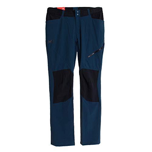 Millet - Onega Stretch Pant M - Pantalon Homme - Résistant et Respirant - Randonnée, Trekking, Lifestyle - Bleu/Noir