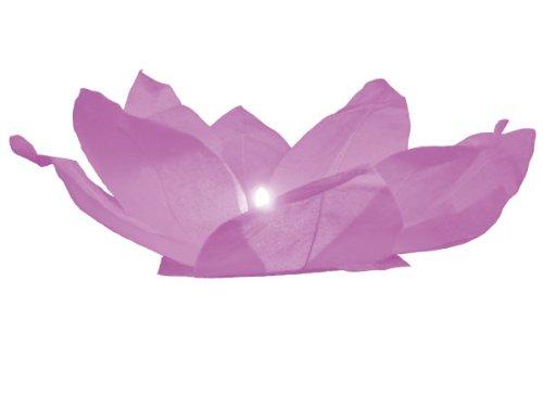 Alsino Fleur de Lotus Flottante de l'eau lanternes Rose