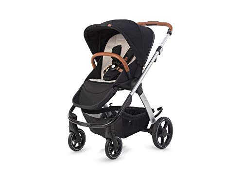 MICRALITE GetGo By Silver Cross Pushchair Travel System Stroller with One Second Fold, Black