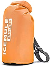 IceMule Classic Insulated Backpack Cooler Bag - Hands-Free, Collapsible, and Waterproof, This Portable Cooler is an Ideal Sling Backpack for Hiking, The Beach, Picnics and Camping-Small, Blaze Orange