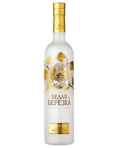 Vodka White Birch Gold 0,7L russischer Premium Wodka mit Birkensaft