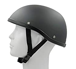 Hot Rides Classic Chopper Biker Helmet
