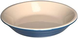 Le Creuset Stoneware 9 Inch Deep Dish Pie Pan, Solid Blue