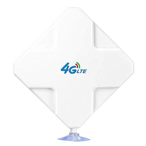 Fransande 4G LTE T9S Antena 35DBi de ganancia elevada Dual T9S Señal Booster para ZTE Vodafone Hotspot Router