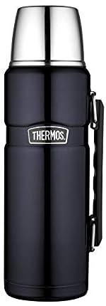 Thermos Stainless King, Termo de acero inoxidable con manija, 1,2 litros, Azul (Midnight Blue)