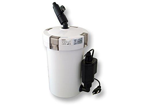 SunSun Filtro Esterno HW-603B per acquari 3 Livelli di filtrazione (400 l h)