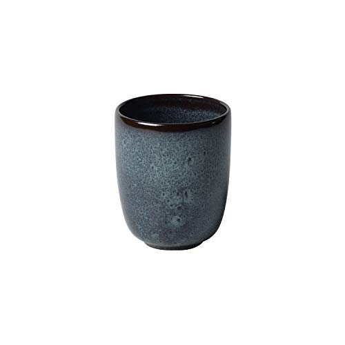 like. by Villeroy & Boch – Lave gris Becher ohne Henkel, 400 ml, Tasse aus Steingut ohne Henkel für besondere Kaffeemomente, spülmaschinengeeignet