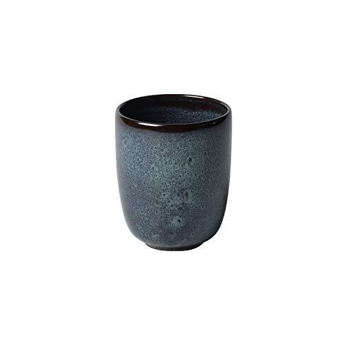like. by Villeroy & Boch - Lave gris Becher ohne Henkel, 400 ml, Tasse aus Steingut ohne Henkel für besondere Kaffeemomente, spülmaschin- und mikrowellengeeignet