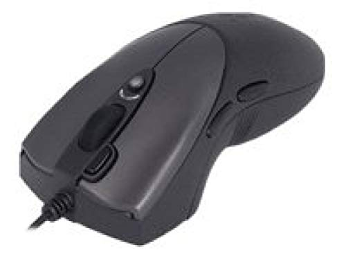 A4Tech Oscar Optical Gaming Mouse X-738K USB Óptico 3200DPI Negro - Ratón (Óptico, USB, 3200 dpi, Negro)