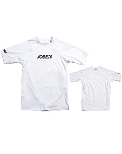 Jobe Herren Progress Rash Guard Rashguards, Weiß, S