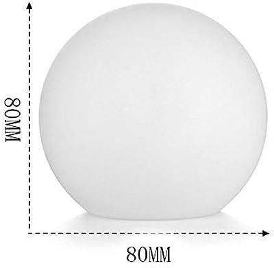 ナイトライトランプ バッテリーギフト・ムーンランプ高輝度LEDナイトライトテーブルランプパーティーの装飾とLEDランプラウンドムーンランプ (Color : AS SHOW)