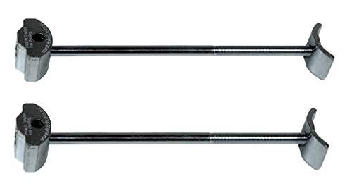 Hettich Arbeitsplattenverbinder/Möbelverbinder/Plattenverbinder AVB 4, Gesamtlänge 165mm, (2...