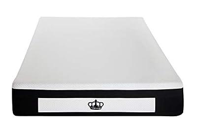 Dynasty Mattress LaComfort 14-Inch Gel Memory Foam Luxury Mattress, King