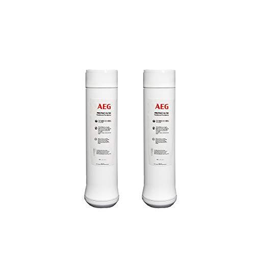 Filtro AEG Pre / Post Osmosi (AEGPPF) | Per Osmosi Acquatica Filtrazione AEGRO di Acqua Potabile Sotto Lavello | Durata: 6 Mesi