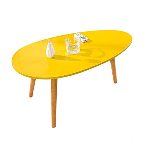ZCYY Coffee Table Solid Wood For Living Room,modern Simple Small Table Easy...