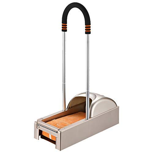 JH Dispenser Copriscarpe, Macchina Copriscarpe, Staccabile Intelligente ed Ecologico (1 Stampo per Scarpe Roll-1200 + bracciolo in Spugna)