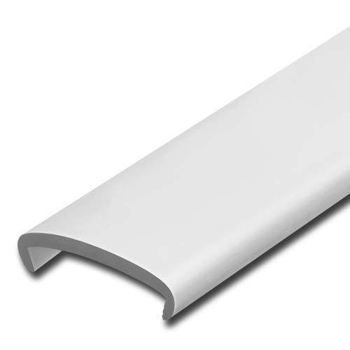 Softkante 19mm, Weiß, Stoßkante, Schutzkante, Kantenschutz