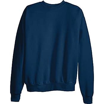 Hanes Men s EcoSmart Sweatshirt Navy Medium