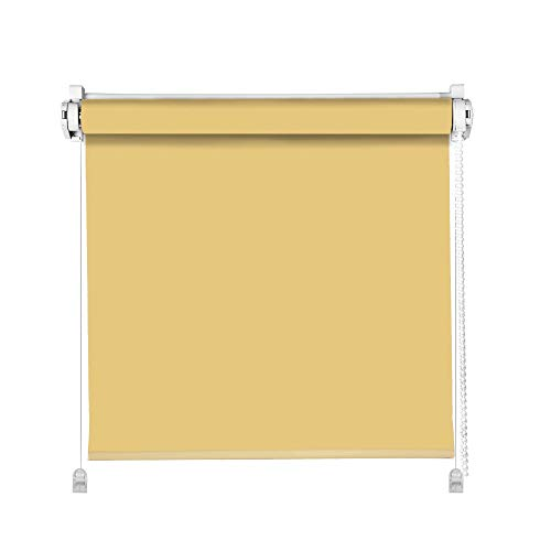 Domdeco Tageslicht Classic Rollo Sand 80x150cm Klemm Fix Rollo