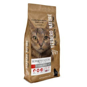 YERBERO Nature Sterilized + 7, Superpremium kattenvoer 1,5 kg