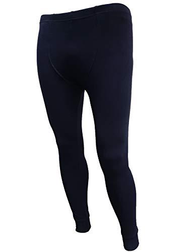 Skiunterwäsche Hose für Herren atmungsaktive Männer Thermounterwäsche für Sport und Alltag in Schwarz, Grau und Dunkelblau (Dunkelblau, XL)