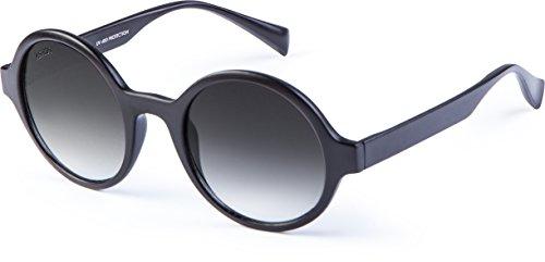 MSTRDS Unisex Sonnenbrille Retro Funk, Gr. One size, Schwarz (black/grey 5150)