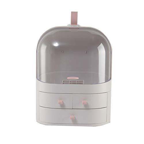 Nvshiyk Maquillage des boîtes de Rangement Type de tiroir Salle de Bain Portable Soins de la Peau Produit Cosmétique Boîte de Rangement pour Meuble-lavabo et comptoir