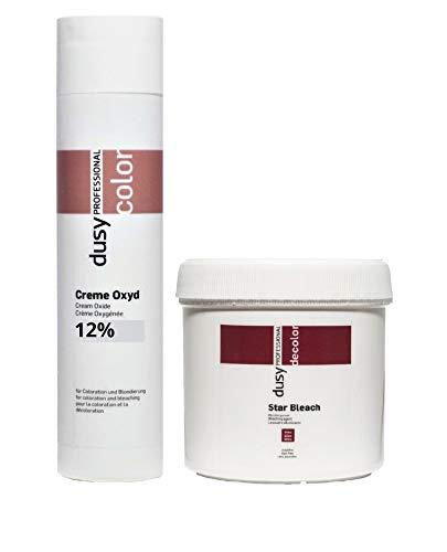 Dusy Professional Creme Oxyd 250ml 12%+ Dusy Star Bleach Blondierpulver 100g