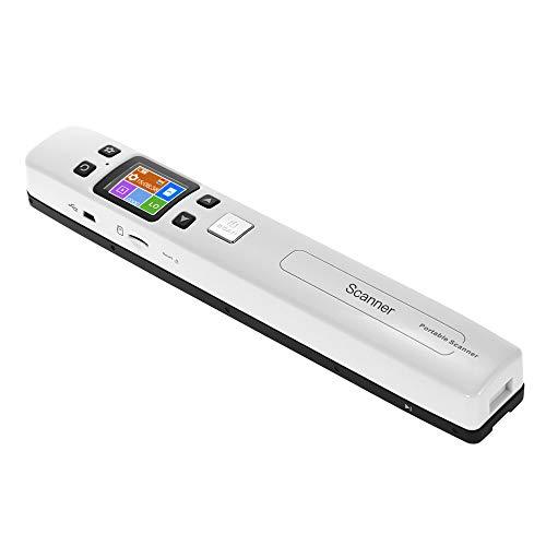 Aibecy WLAN Scanner A4 1050DPI Stab Mobiler High-Speed für Dokument jpg/PDF Format Display LCD für Unternehmer, Studenten, Künstler und Architekten Fans (WiFi)