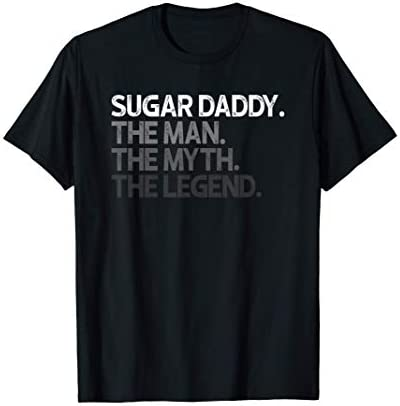 Sugar Daddy SugarDaddy The Man Myth Legend Gift T Shirt product image