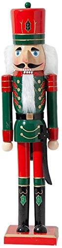 AWW Nussknacker-Weihnachtsdekoration, 50 cm, Soldaten-Nussknacker-Puppe, klassische Puppe, geeignet als Heimdekoration, Geburtstagsgeschenk, Hobby-Kollektion