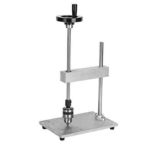 Taladro, Roscadora Manual 1,5-10 Mm Vertical Ajustable Fácil De Operar Con Tornillo De Fijación M6 Para Procesamiento De Orificios Profundos Roscados