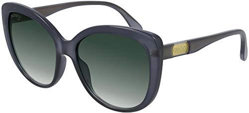 Gafas de Sol Gucci GG0789S Grey/Green Shaded 57/17/145 mujer