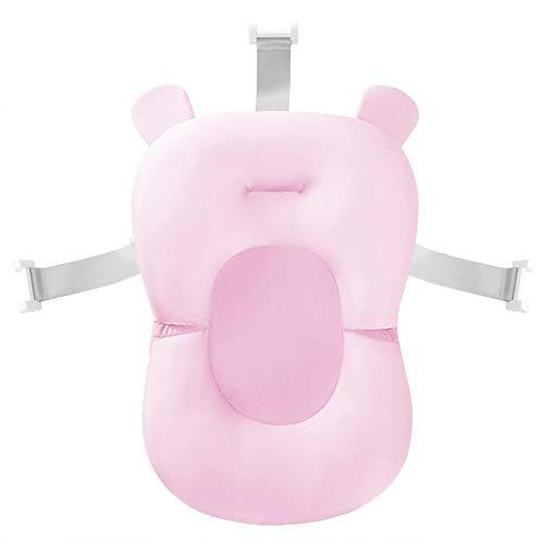 smileyshy Baby-Badewanneneinlage, komfortabler, rutschfester Badesitz, Baby-Badewannen-Auflage für Stuhl, Regal, Neugeborene, Badewannensitz, Stützkissen für Babys von 0–18 Monaten