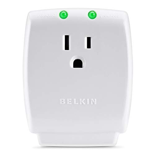 Belkin Single Outlet SurgeCube Surge Protector, 1080 Joules